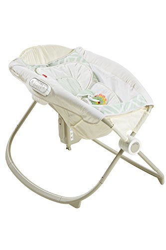Fisher-Price Deluxe Newborn Auto Rock 'n Play Sleeper with Smart Connect