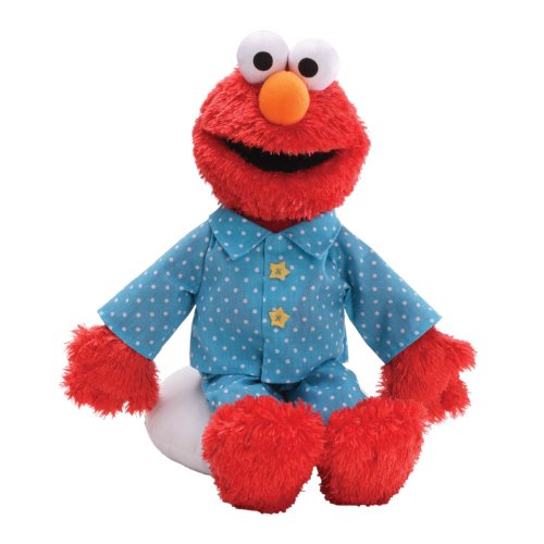 Gund Sesame Street Sleepytime Elmo Stuffed Animal front-790574