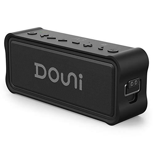 Douni A3 Plus Portable Bluetooth Speakers Wireless IPX7 Waterproof Dustproof 20W Speakers Enhanced Bass,Home Shower,Outdoor,Beach,Travel