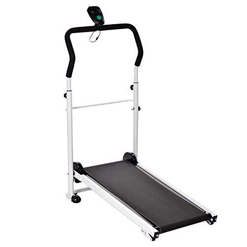 Amdirect-New-Mute-Portable-Folding-Sliming-Treadmill-Running-Machine