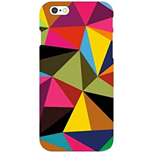 Apple iPhone 6 Back Cover - Colored Triangles Designer Cases