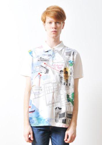 ( グラニフ ) graniph へニー ヘイワース ポロシャツ / へニー ヘイワース 04 ( ホワイト ) M