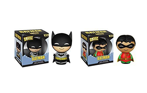Funko Dorbz Batman and Robin Action Figures