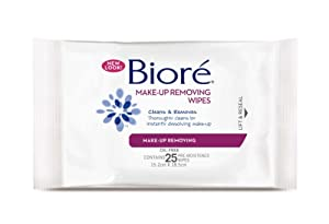 Biore Makeup Removing Wipes Pack of 25
