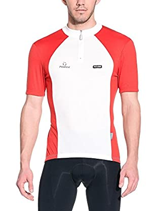 Nalini Maillot Ciclismo Timan (Blanco / Rojo)