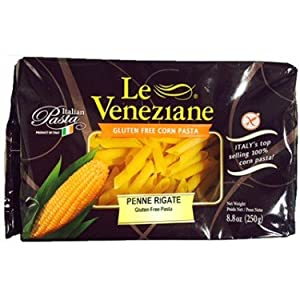 Le Veneziane Gluten Free Penne Rigate Corn Pasta -- 8.8 oz