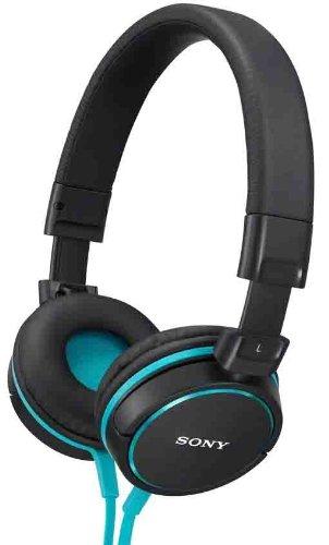 Sony MDRZX600L Monitor Kopfhörer (40mm) schwarz/blau