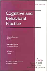 Cognitive and Behavioral Practice 1994: Editor Lizette