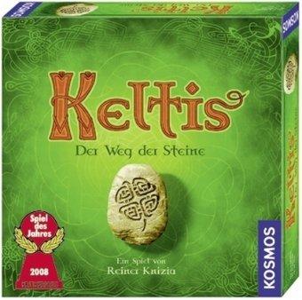 """Kosmos - 6903590 - Jeu de société """"Keltis"""" - Elu Jeu de l'Année 2008 - Langue : allemande"""