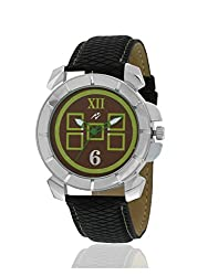 Yepme Blox Mens Watch - Green/Black -- YPMWATCH1886