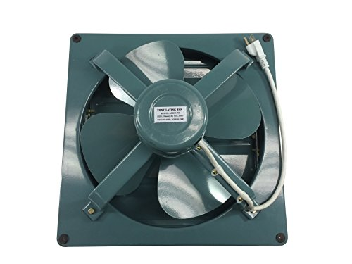 Barn Exhaust Fans : Professional grade products metal shutter exhaust