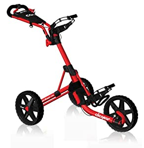 Clicgear 2.0 Golf Push Cart (Red)