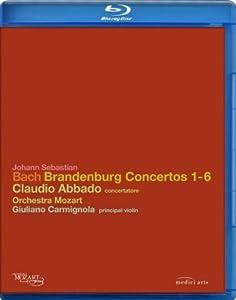 Bach Brandenburg Concertos Blu-ray 2008 by Euroarts