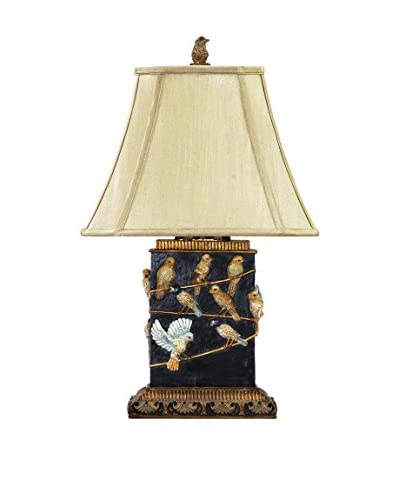 Artistic Lighting Birds on A Branch 1-Light Traditional Table Lamp