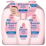 Johnson's Baby Lotion (Pack of 3) 2-27 Ounce & 1-9 oz Convenient bottle (total 63 fl oz)