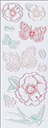 Martha Stewart Crafts Clear Stamps, Vintage Garden