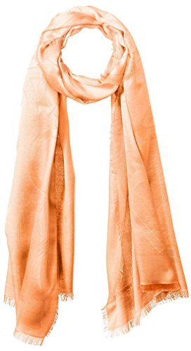 Salvatore-Ferragamo-Womens-Patterned-Scarf-Arancio