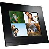 NIX X12A 12 Inch Hi-Resolution Digital Photo Frame, 1GB Internal Memory, Remote Control, Photo, Video, Music, Split Screenby NIX