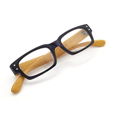 Black Tortoishell Bamboo Reading Glasses (1.5)