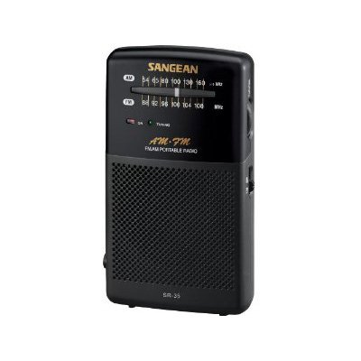 Great Deal! Sangean SR-35 AM/FM Analog Pocket Radio