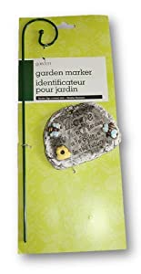 """Love Garden Ornament """"To Plant a Garden Is to Believe in the Future"""" Stone"""