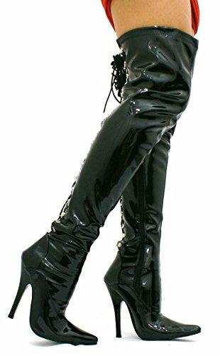 kinky-fetish-femme-talon-stiletto-sexy-cuisse-haute-crochet-a-lacets-bottes-taille-3-4-5-6-7-8-diffe
