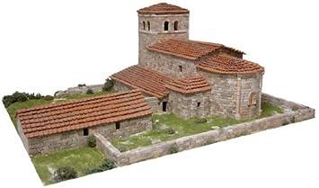 Maquette en céramique - Eglise de San Andrés, Argomilla, Espagne