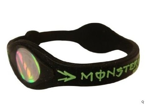 Power Monster Energy Silicone Bracelet Wristband