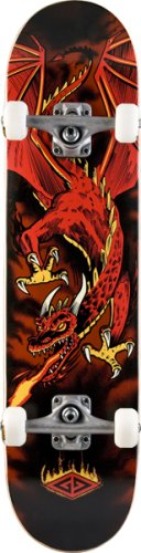 Review Of Powell Golden Dragon Flying Dragon Complete Skateboard