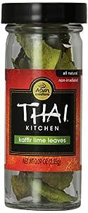 Thai Kitchen Seasoning, Kaffir Lime Leaves, 0.09-Ounce (Pack of 3)