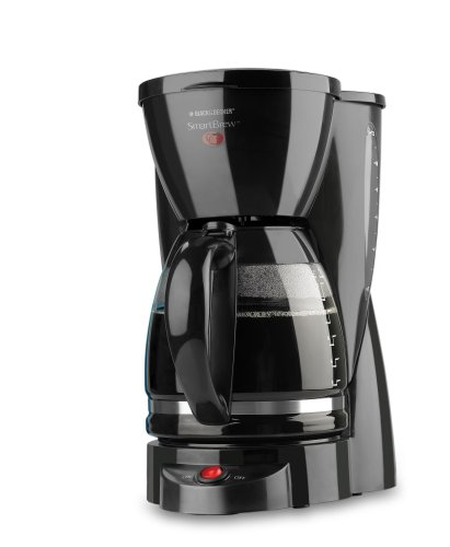 Black & Decker DCM2000B SmartBrew 12-Cup Coffeemaker, Black