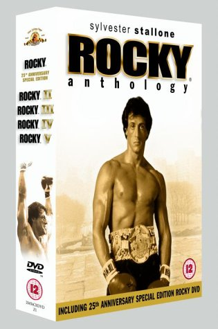 Rocky Anthology (5 Disk Box Set) - Region 2 [DVD]