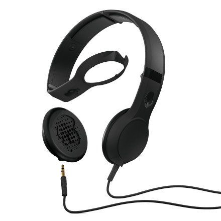 Skullcandy Cassette Headphones w/Mic (Black)