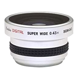 Kenko 0.43X Fisheye Super Wide Angle lens for 37mm Camcorders #SGW-043
