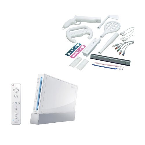Nintendo Wii Console with Starter Kit Bundle