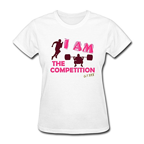 100% Cotton Music Competition Champion Tees For Women - Round Neck front-638884