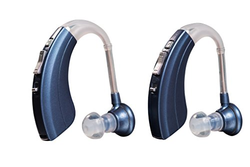 Britzgo Hearing Amplifier BHA-220D, Modern Blue, Modern and Fashion Designed - Adjustable...