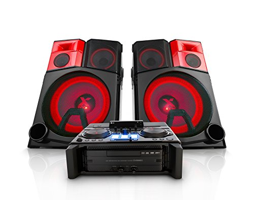 Click to buy LG Electronics CM9950 4400W Hi-Fi Shelf System with DJ Pro and Bluetooth Connectivity - From only $174.26