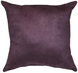 Microsuede Polyester Faux Suede Eggplant Purple, 16\