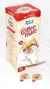 Coffee-Mate(R) Individual Nondairy Creamers, Regular, Box Of 50