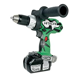 Hitachi DS18DL 18-Volt Lithium-Ion 1/2-Inch Cordless Driver Drill