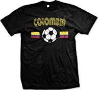 Colombia Flags International Soccer T…