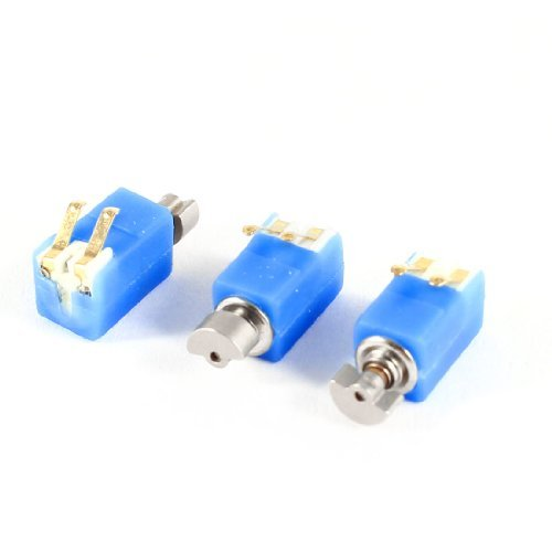 Water & Wood 4.6Mm X 4.8Mm Dc 3V 2000Rpm Miniature Electric Vibration Motor 3 Pcs With Car Cleaning Cloth