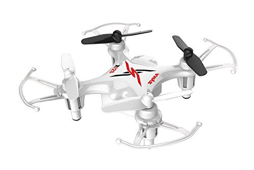 Syma-X12S-Nano-6-Axis-Gyro-4CH-RC-Quadcopter-with-Protection-Guard-Color-White