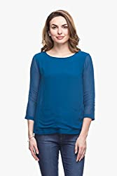 Womens Semi Formal Blue Top