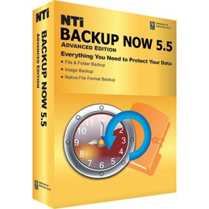NTI Backup Now 5 Standard Edition DVD Case [Old Version]