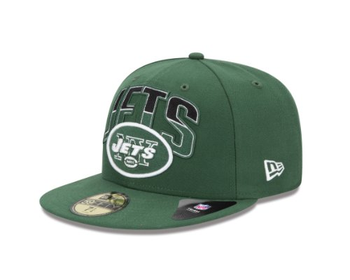NFL New York Jets 2013 Draft 59FIFTY Fitted Cap Green, 7 3/4 at Amazon.com