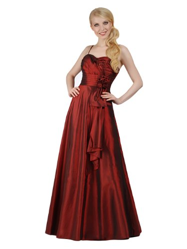 CityGirl – 3431 Abendkleid Ballkleid 1-teilig in Weinrot Gr. 34-50 Reviews