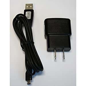Samsung OEM USB travel charger adapter with data cable microUSB
