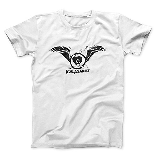Rise Against Heart Wings T Shirt Maglietta Donna - Express Dispatch - S M L XL XXL sizes